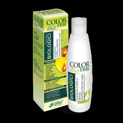 Shampoo color erbe bio per capelli grassi