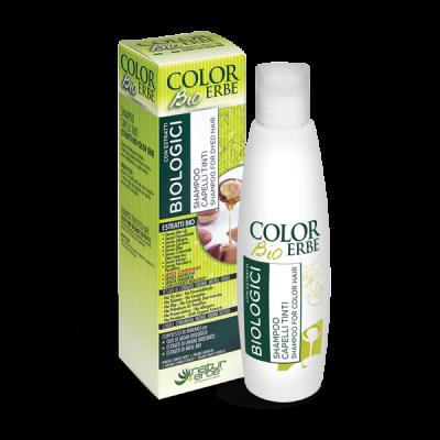 Color erbe shampoo capelli tinti bio